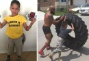 Boy's born without a right leg but wants to join army. Then he meets a Marine just like him