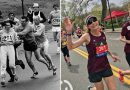 First woman to officially run Boston Marathon does it again 50 years later