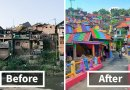 Indonesian Government Paints 232 Houses To Turn Slum Into Rainbow Village, And Result Is Amazing