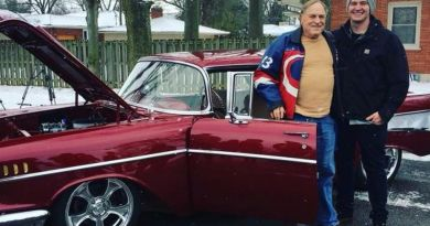 Grandson Restores 1957 Chevy Bel Air For Grandfather's 81st Birthday