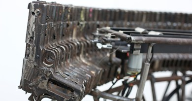 Decommissioned GUNS Turned Into A Musical Orchestra By Pedro Reyes