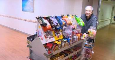 90-Year-Old 'Candyman' Makes Days Sweeter At Baltimore Hospital