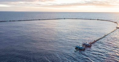 Great Pacific Garbage Patch Cleaner Begins Final Testing