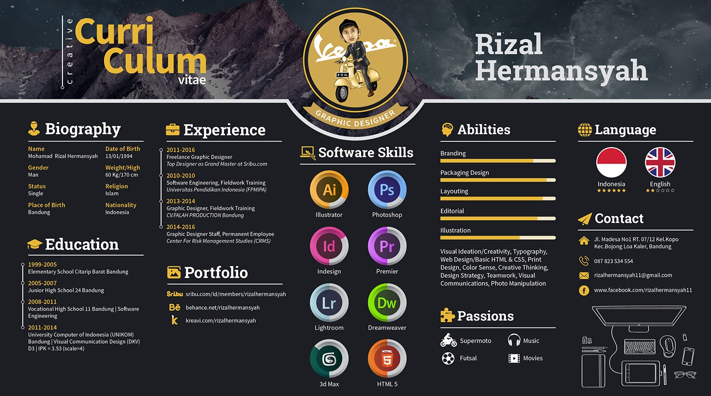 20 Newest Creative Resume Designs For Inspiration 2018  Good Resume