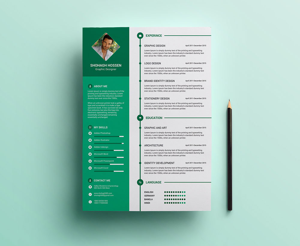 resume template 2017 download