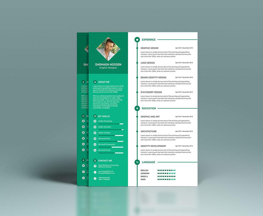 best resume format in word file