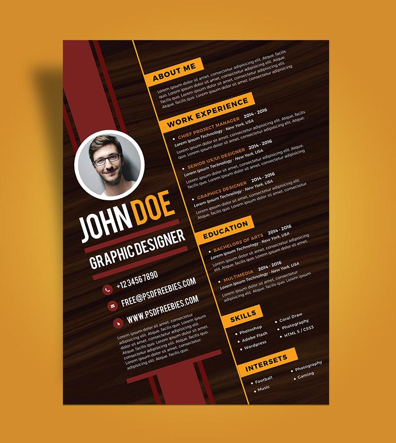 creative graphic design cv pdf