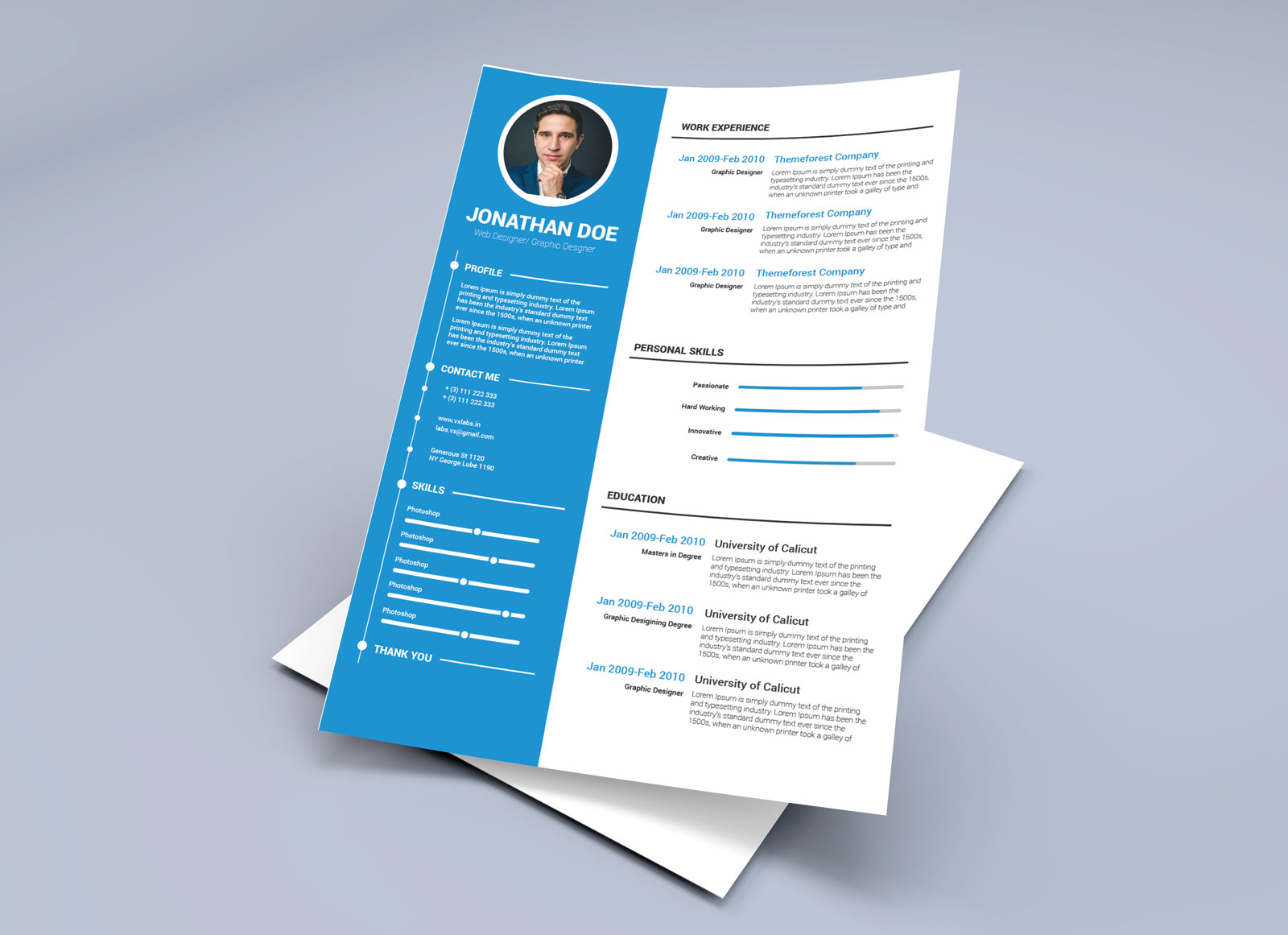 Free Resume Word Template Free Resume Template In Illustrator Ai Word Docx Format Good