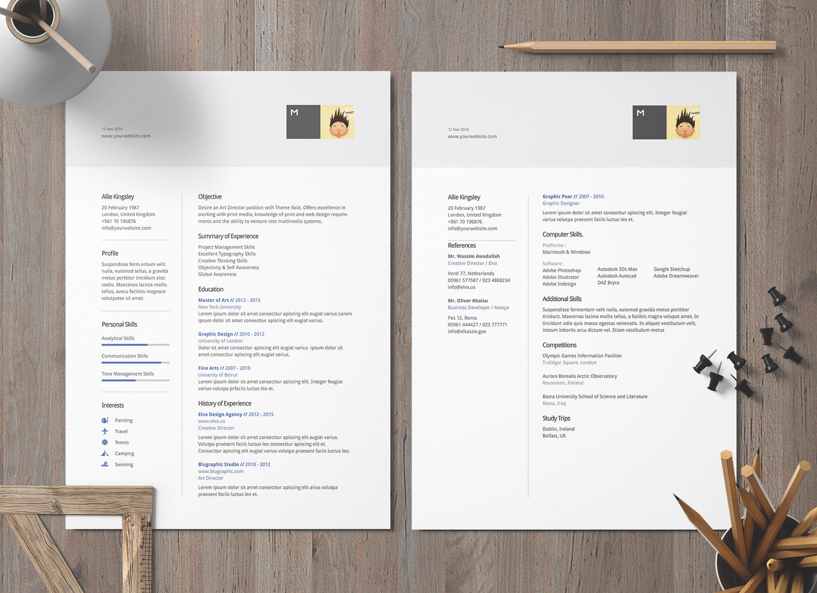 template of a professional letter