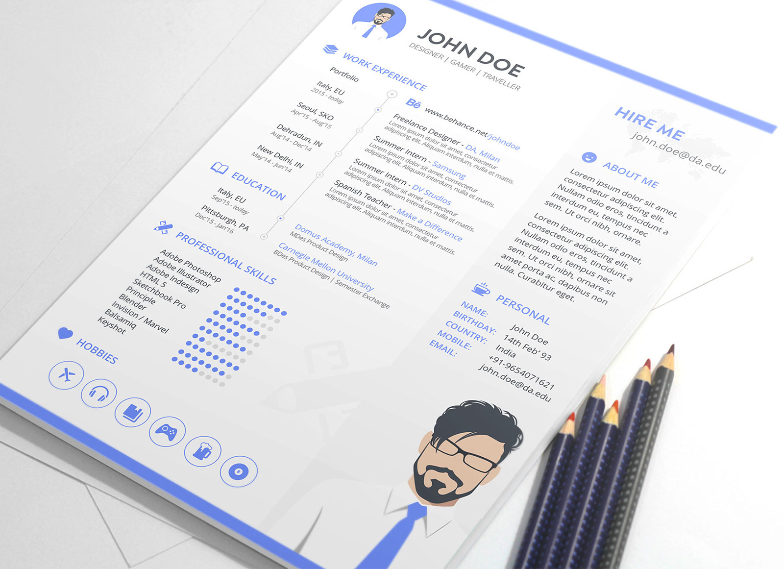 Resume Game Designer Free Resume Template In Sketch For Game Designers Good