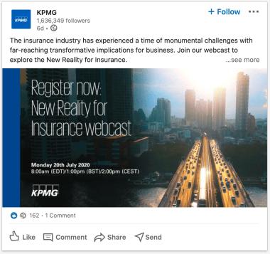 KPMG on LinkedIn