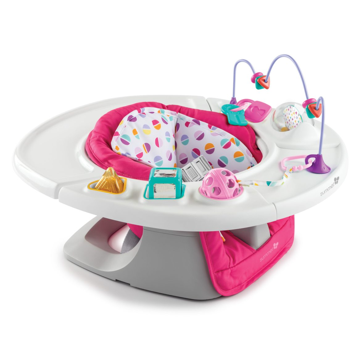 Summer Infant 4-in-1 Deluxe SuperSeat – Pink