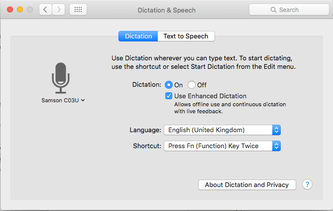 speech to text software