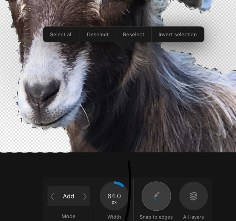 best affinity photo editing for ipad