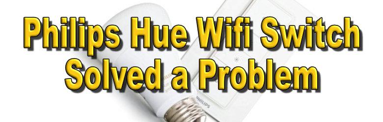 Philips Hue Wifi Switch