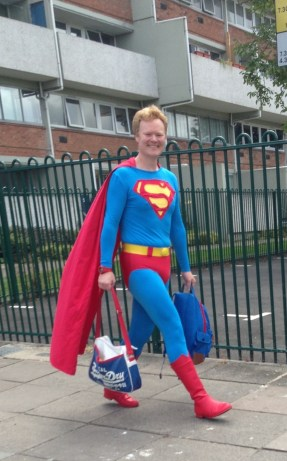 Even Super Man loves Norwich!