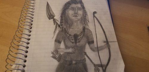 Comic book Heroine idea…