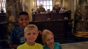 (L:R) Yosef, Lynden and Vivi at Universal Studios in Orlando, FL. (Feb. 2016)