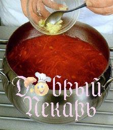 как приготовить борщ рецепт 4
