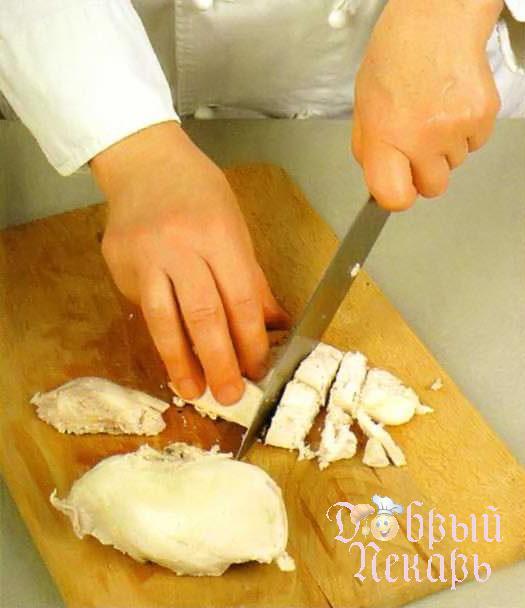 Пирог с баклажанами и куриной грудкой приготовление 2