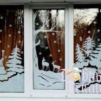 Вытынанки на окна: праздничные схемы и шаблоны