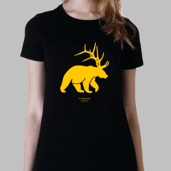 Women beerdeer t-shirt it's a beer dear