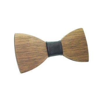 houten strikje vlinderdas - wooden bow tie