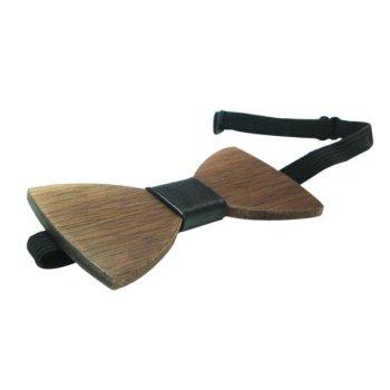 houten strikje sluiting - wooden bow tie