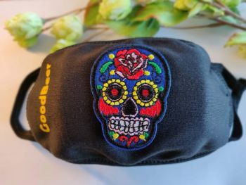 Mexicaanse schedel mondmasker brussel