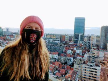Mondmasker GoodBeer Brussels