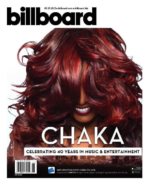 Chaka Kahn on Billboard