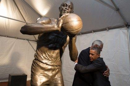 Bill Russell, Barack Obama