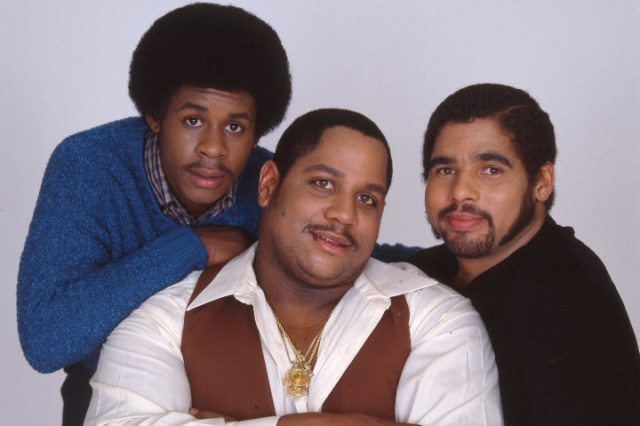Big Bank Hank (center) of The Sugarhill Gang