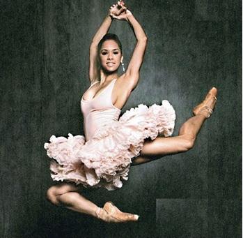 Prima Ballerina Misty Copeland (Photo: hellogiggles.com)