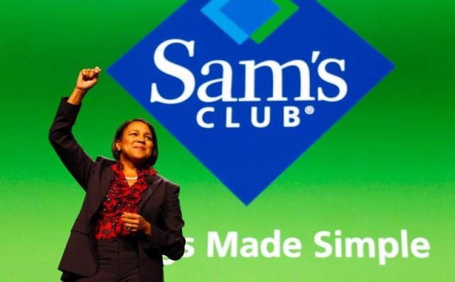 Sam's Club CEO Rosalind Brewer  (Photo via news.walmart.com)