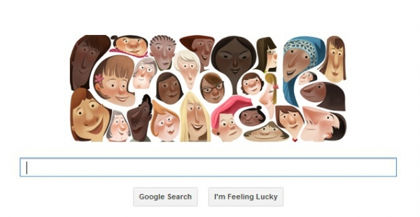 Google diversity doodle (via Google.com)