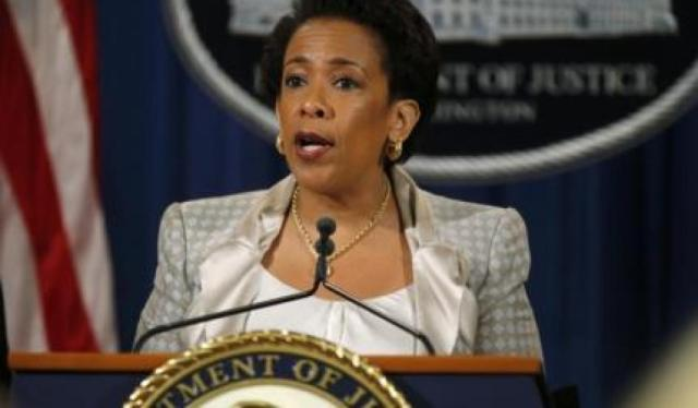 U.S. Attorney General Loretta Lynch ce Department (Photo via newsweek.com)