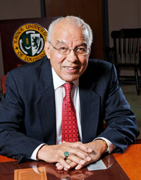 Xavier University President Norman Harris