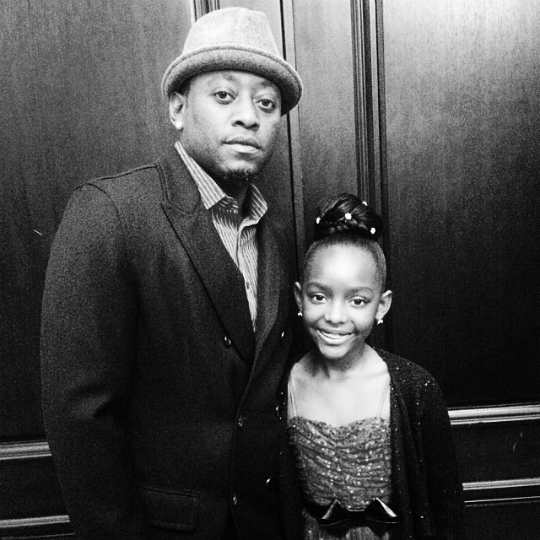 Omar Epps and daugther (photo via blackcelebkids.com)