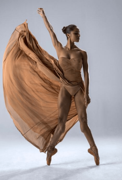 Prima Ballerina Misty Copeland (Photo via livetalksla.com)