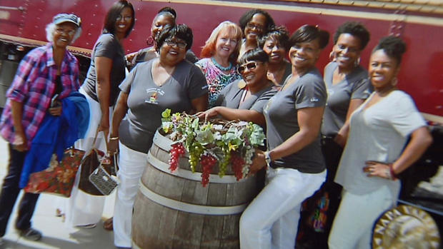 Women from Book Club who were escorted off Napa Valley Wine Train for laughing (Photo via media.nbcbayarea.com)