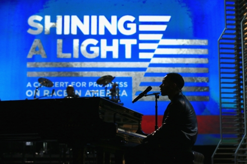 "John Legend at ""Shining A Light"" Concert"