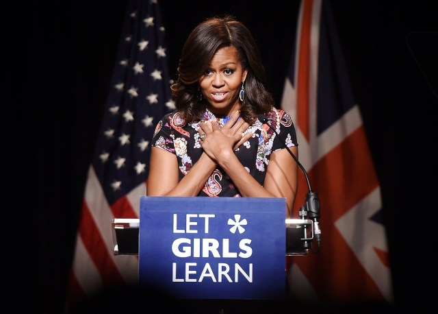 First Lady Michelle Obama (photo via firstladies.org)