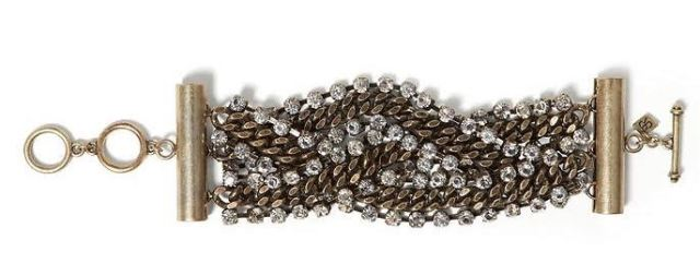 Braided Chain Line Bracelet - Banana Republic