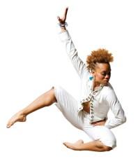 Choreographer/dancer Camille A. Brown (photo via berkshireonstage.com)