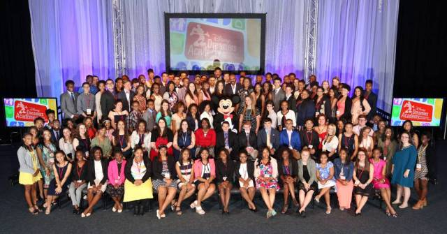 Disney Dreamers Academy Class of 2016 (photo by Gregg Newton)