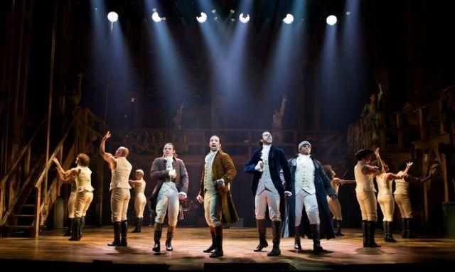 "Cast of ""Hamilton"" ("