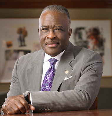 University at Albany Chancellor Dr. Robert Jones (photo via www.albany.edu)