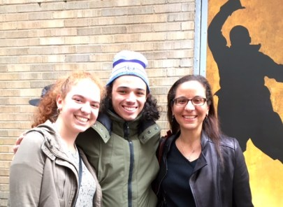 Jessica Davis (l), Tony Ramos (m), Julie Bibb Davis (r) [photo courtesy Julie Bibb Davis]