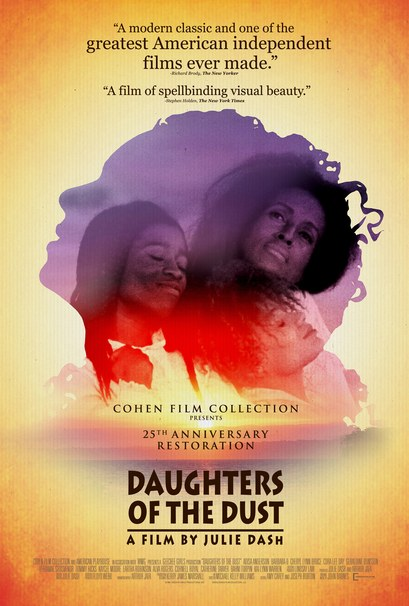 """""""Daughters of the Dust"""" directed by Julie Dash (poster via Cohen Media Group)"""